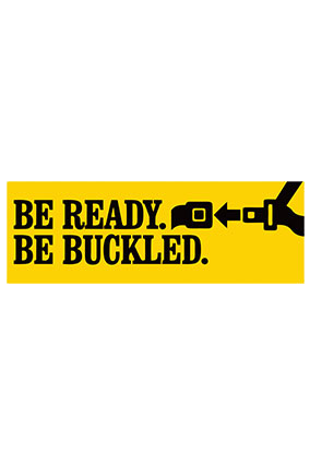 Amazing Be Ready Bumper Sticker