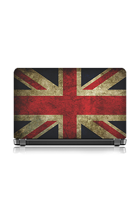 Red & White Crossed Check Laptop Skin