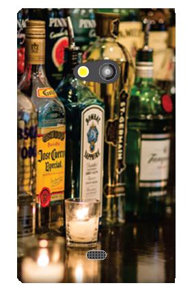 Nokia Lumia 625 Alcoholic Days Mobile Cover