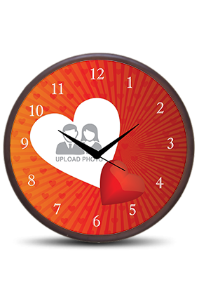 Love Dose Wooden Wall Clock