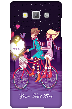 Samsung Galaxy A5 2015 Ride Valentine's Day Mobile Cover
