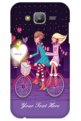 Samsung Galaxy J5 Ride Valentine's Day Mobile Cover