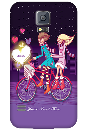 Samsung Galaxy S5 Ride Valentine's Day Mobile Cover