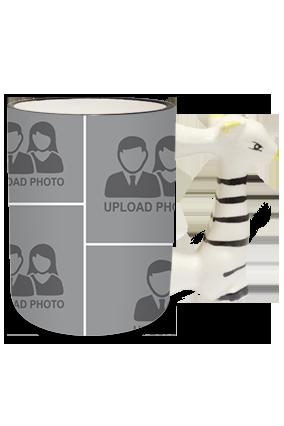 Amazing Zebra Handle Mug