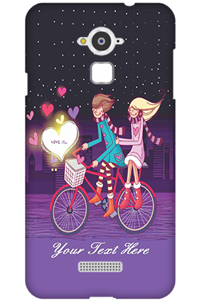 Custom Silicon - Coolpad Note 3 Ride Valentine's Day Mobile Cover