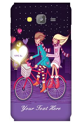 Silicon - Samsung Galaxy J5 Ride Valentine's Day Mobile Cover