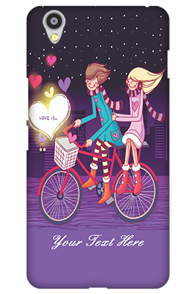 Customize Oneplus X Ride Valentine's Day Mobile Cover