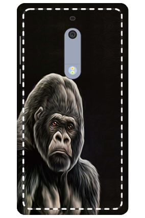 3D - Nokia 5 Angry Mobile Cover