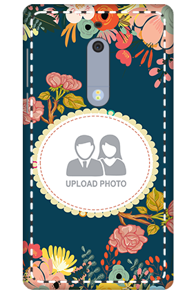 3D - Nokia 5 Flowers Mobile Cover