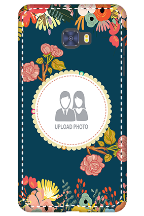 Customized 3D-Samsung Galaxy C7 Pro Flowers Mobile Cover