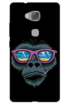 Amazing Huawei Honor 5X Specked Animal Mobile Cover