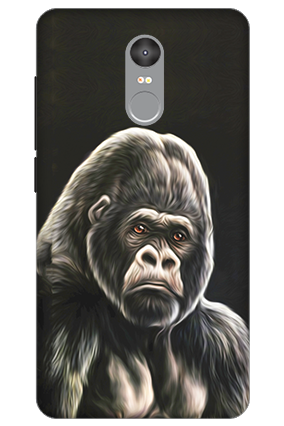 3D - Xiaomi Redmi Note 4 Angry Mobile Cover