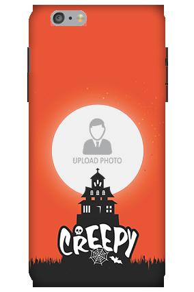 3D-Apple iPhone 6 Plus Creepy Halloween Mobile Cover