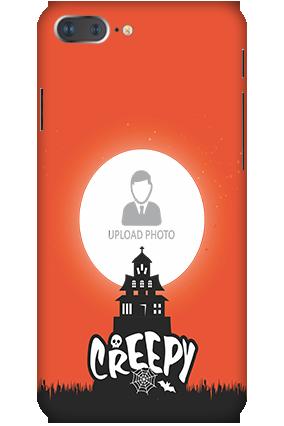 3D - IPhone 7 Plus Creepy Halloween Mobile Cover