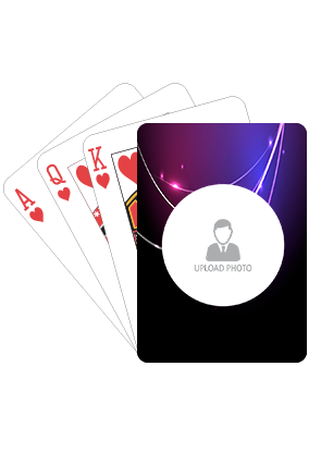 Neon Lights Playing Cards