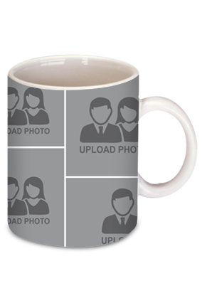 8 Photos Coffee Mug