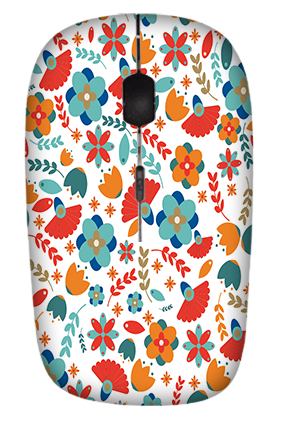 Floral Wireless Mouse
