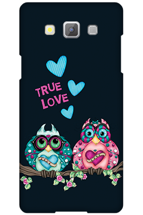 Custom Samsung Galaxy A5 2015 Love Is Around Valentine's Day Mobile Cover