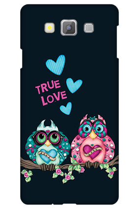 Personalized Samsung galaxy A7 Love Is Around Valentine's Day Mobile Cover