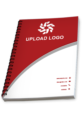 Logo Printed spiral notebooks