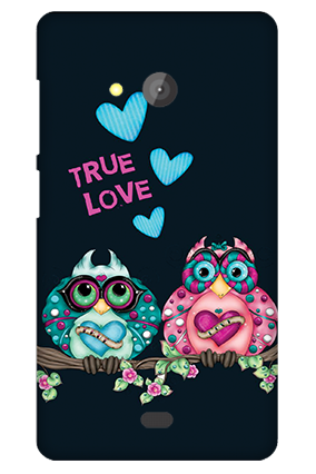 Custom Microsoft Lumia 540 Love Is Around Valentine's Day Mobile Cover
