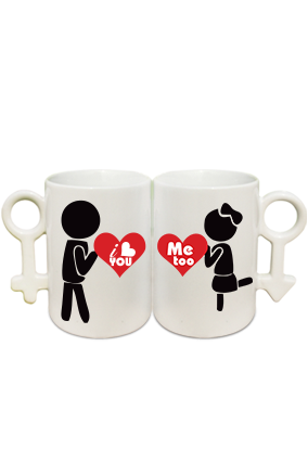 Love Expression Couple Coffee Mugs