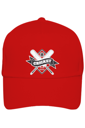 Corporate Cricket Fever Red Cap