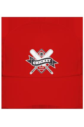 Corporate Cricket Fever Red Cap