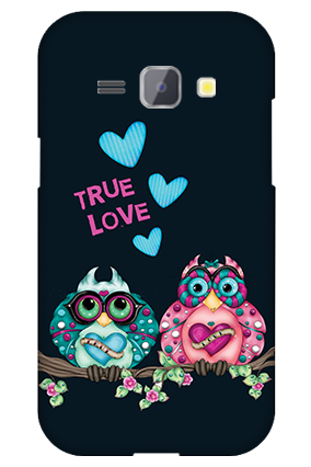 Silicon - Samsung Galaxy J1 Love Is Around Valentine's Day Mobile Cover