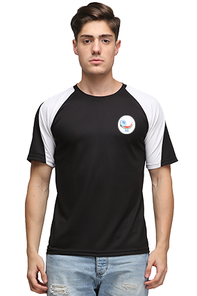 Effit Cricket Black And White T-Shirt