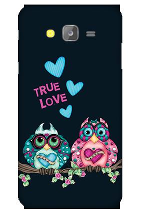 Silicon - Samsung Galaxy J5 Love Is Around Valentine's Day Mobile Cover
