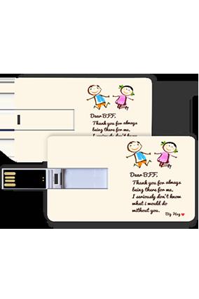 Sloganic Credit Card Pen Drive