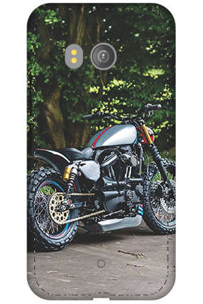 3D - HTC U11 Bike Image Mobile Cover