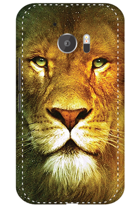 3D - HTC M10 Lion Face Mobile Cover