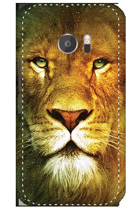 3D - HTC M10 Lion Face Mobile Cover