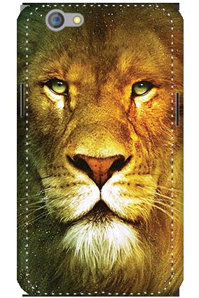 3D - Oppo F1S Lion Face Mobile Cover