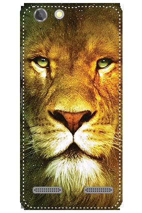 3D - Lenovo Vibe K5 Plus Lion Face Mobile Cover