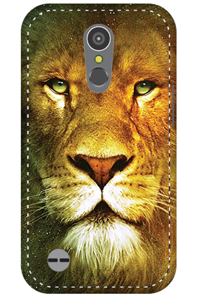 3D - LG K10 (2017) Lion Face Mobile Cover