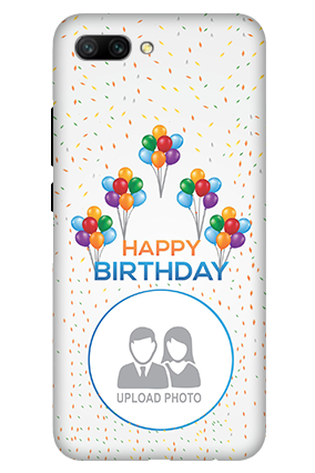 3D - Huawei Honor 10 Happy Birthday Mobile Cover