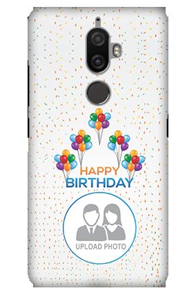 3D - Lenovo K8 Plus Happy Birthday Mobile Cover