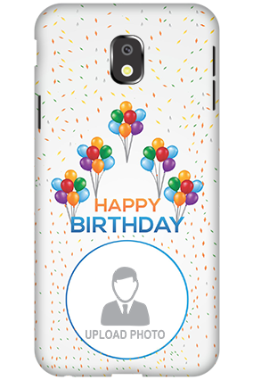 Personalized 3D-Samsung Galaxy J3 (2017) Happy Birthday Mobile Cover