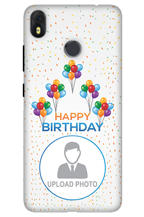 3D-Infinix Hot S3 Happy BIrthday Mobile Cover