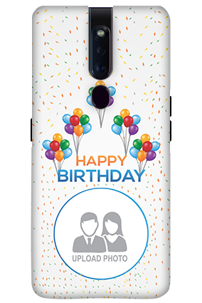 3D-OPPO F11 Pro Birthday Greetings Mobile Covers