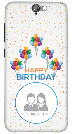 Designer HTC One A9 Happy Birthday Mobile Cover