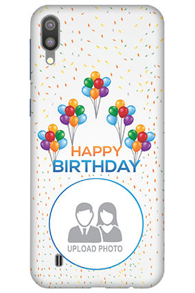 3D-Samsung Galaxy M10 Birthday Greetings Mobile Covers