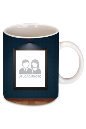 3 Photos Bone China Mug