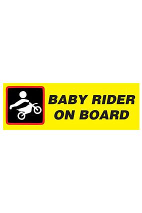Baby Rider Bumper Sticker