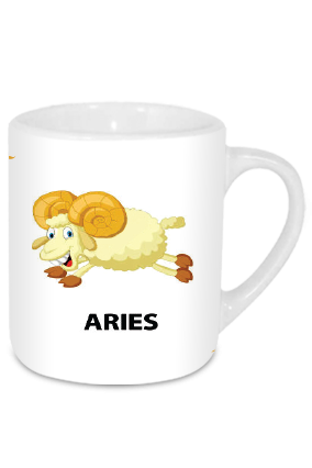 Aries Cool Tea Mug