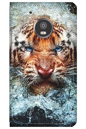 3D - Moto G5 Plus Beast Mobile Cover
