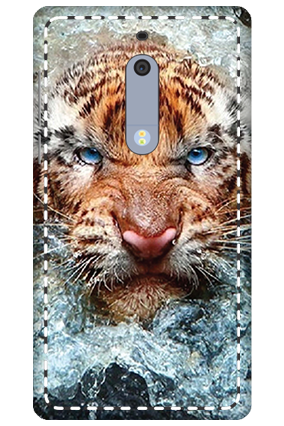 3D - Nokia 5 Beast Mobile Cover